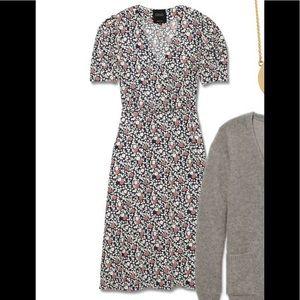 Jennifer Mayer for Barney NY Silk wrap up dress